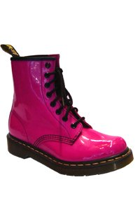 Dr. Martens - 8 eye - Hot pink patent