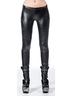Leggings fake leather