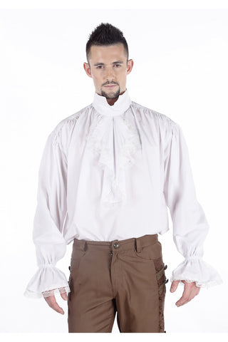 Shirt -Gothic-Aristocrate-White