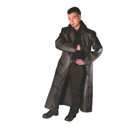 Coat-Leather Imitation -Underworld