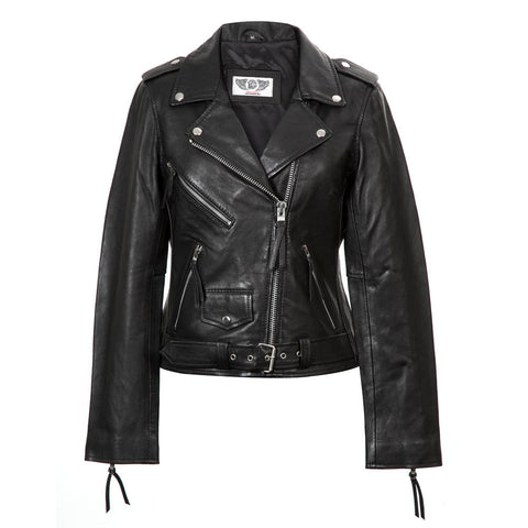 Jacket - Leather - Woman - on the way