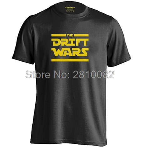 0a68102929 Drift Wars Mens & Womens fashion style casual round neck T shirt