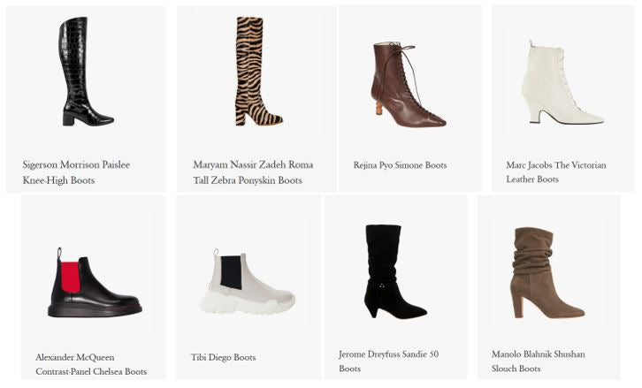 Fall 2019 Hot Boot Trends