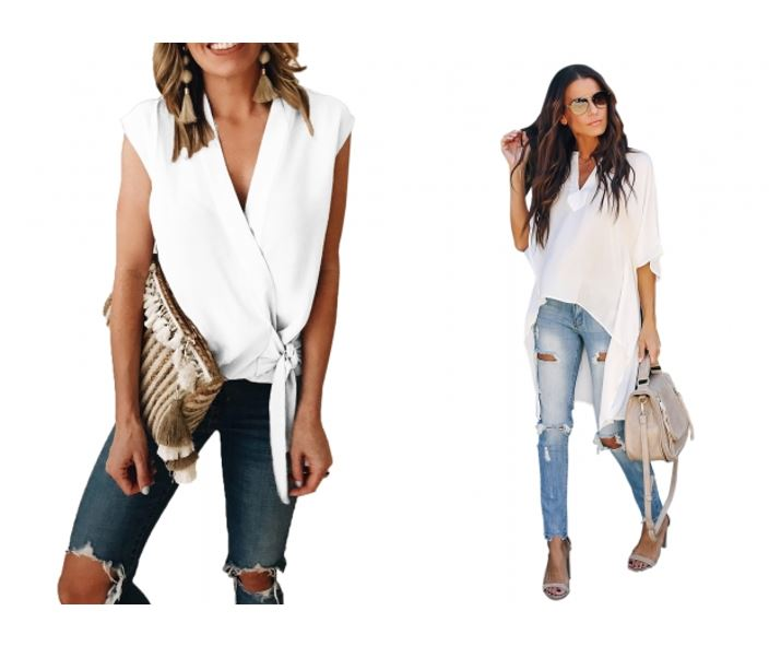 4 Must Have White Tops for Summer