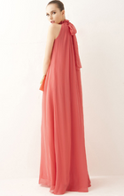 Load image into Gallery viewer, Elegant Halter Maxi Dress