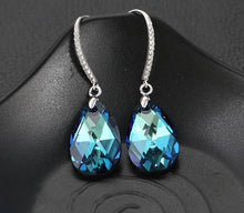 Load image into Gallery viewer, Water Droplet Earrings Made with Swarovski Crystal Elements