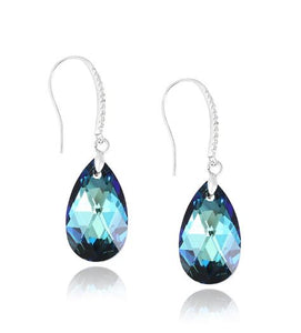 Water Droplet Earrings Made with Swarovski Crystal Elements