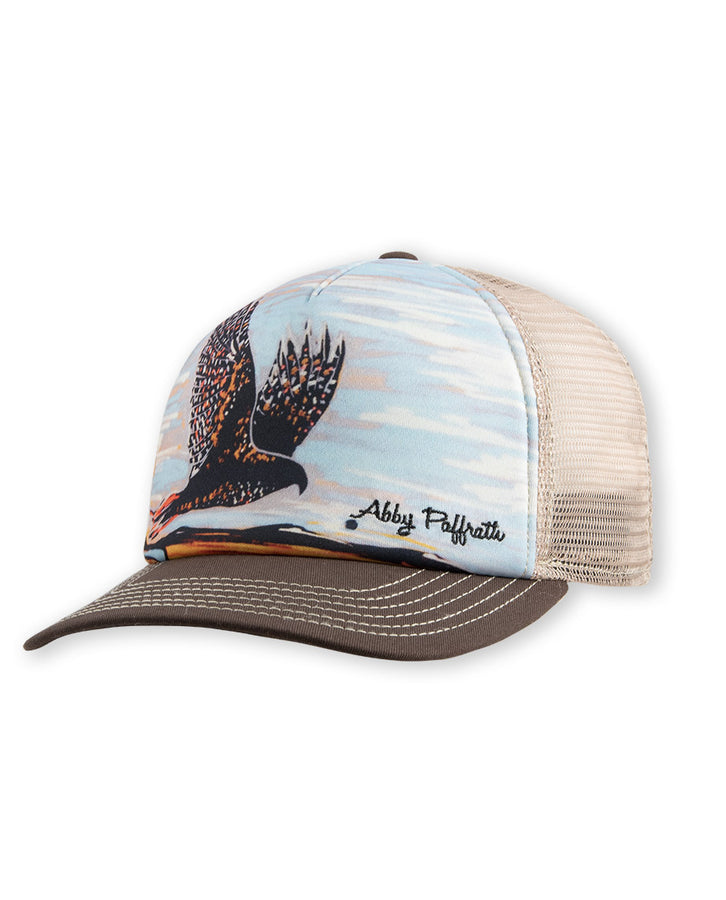Red Tail Hawk Trucker