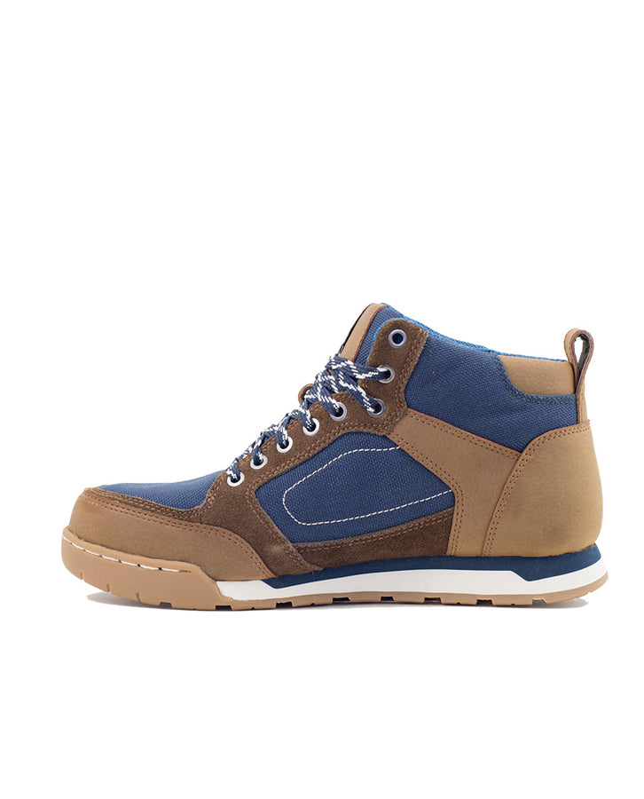 brown/navy