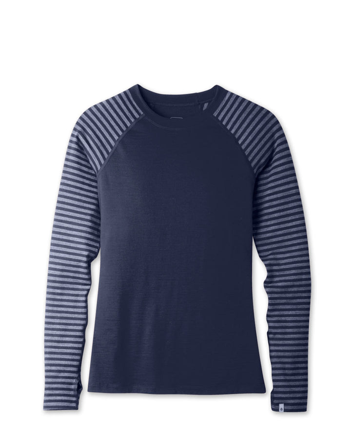 Women's Basis Stretch Merino Crew LS