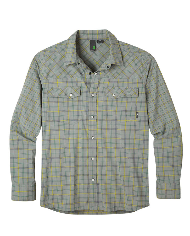 Men's Eddy Plaid Shirt LS
