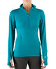 Women's Basis Power Dry® Zip Neck