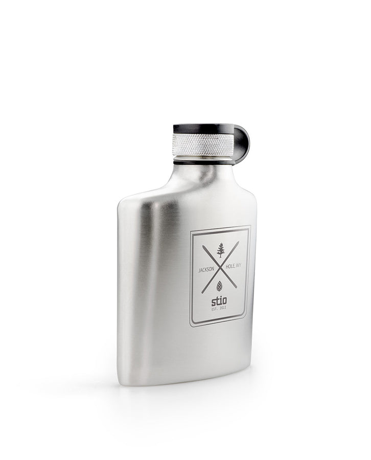 JH Badge Hip Flask