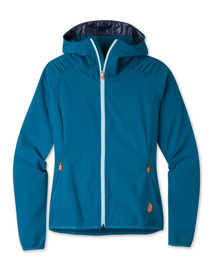 Women's Crester Hooded Soft Shell Jacket