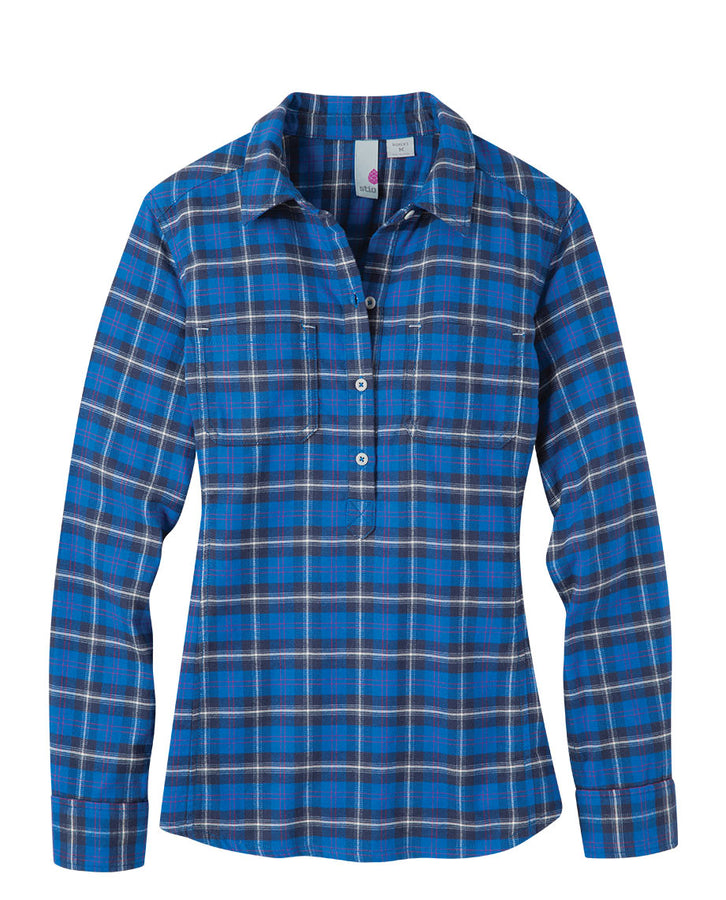 Women's Dovetail Flannel Pullover