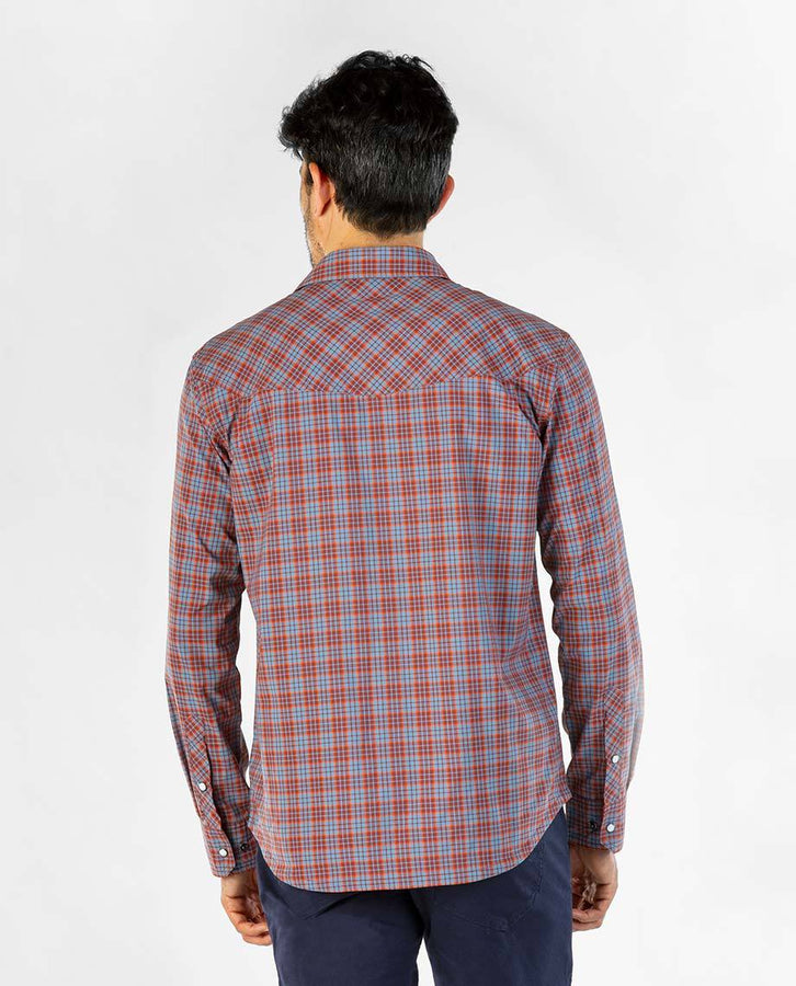 Russet Brown Plaid