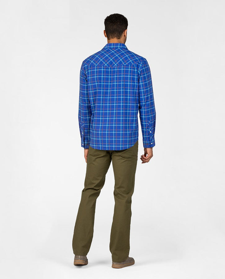 Intrinsic Blue Plaid