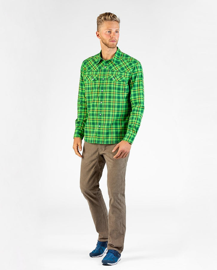Alpine Green Plaid