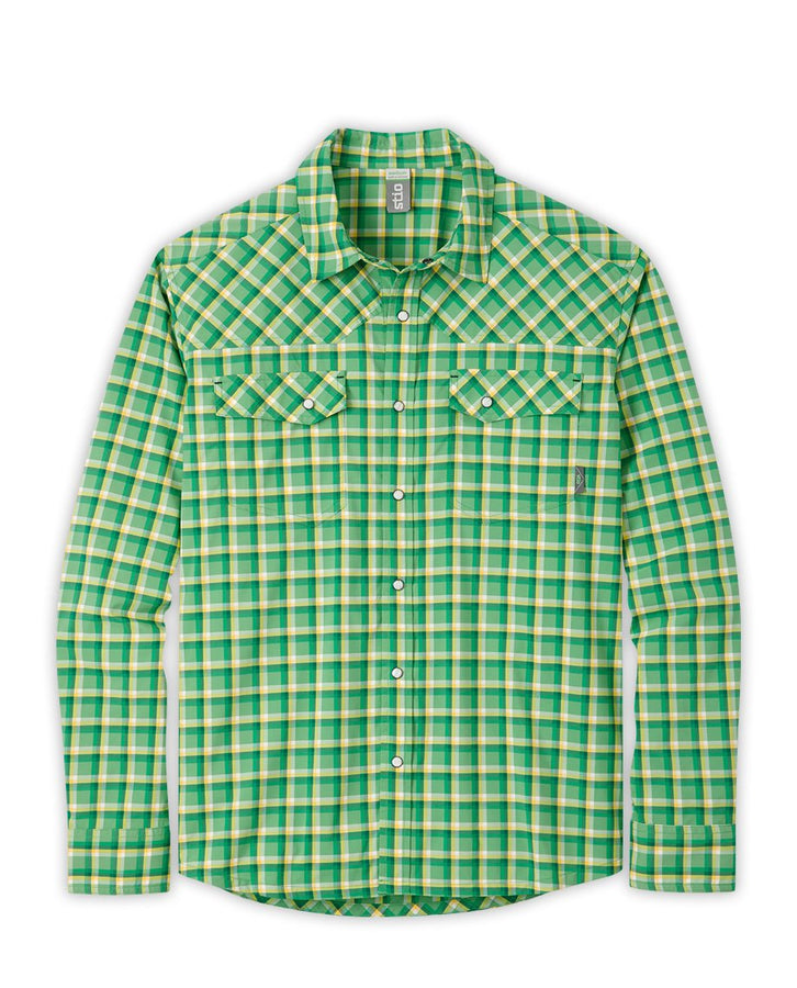 Prairie Green Plaid