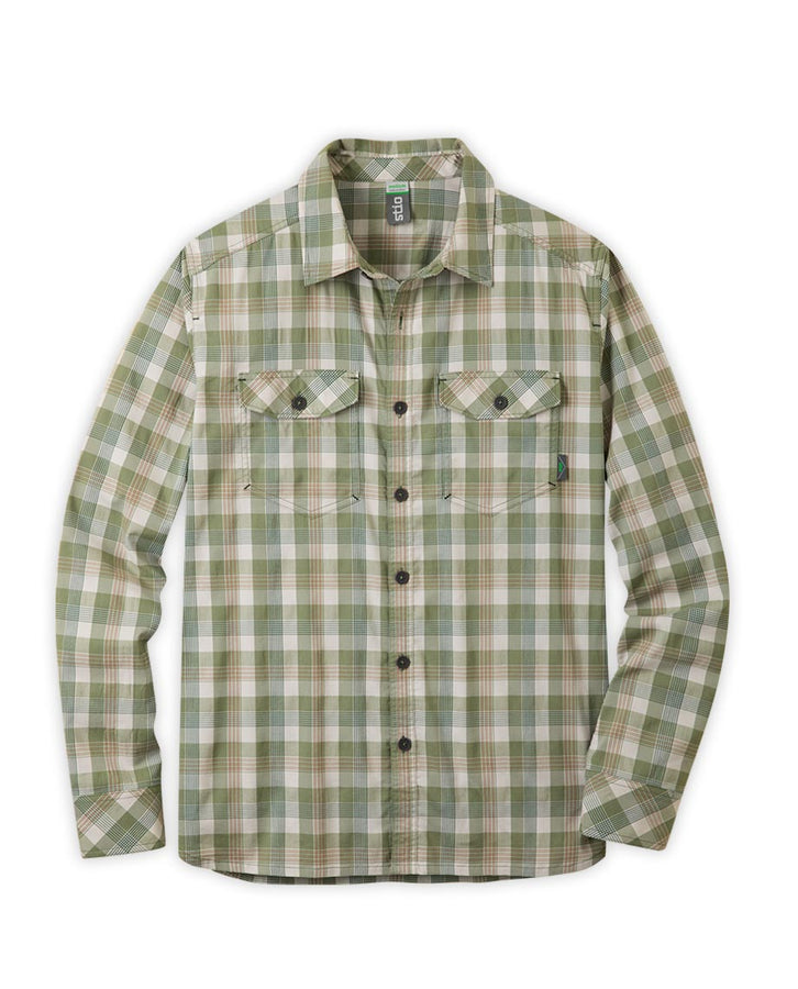 Brush Green Plaid
