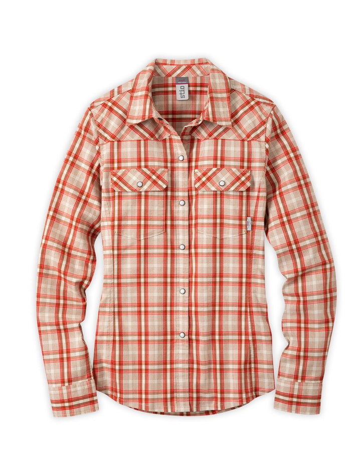 Caldera Red Plaid