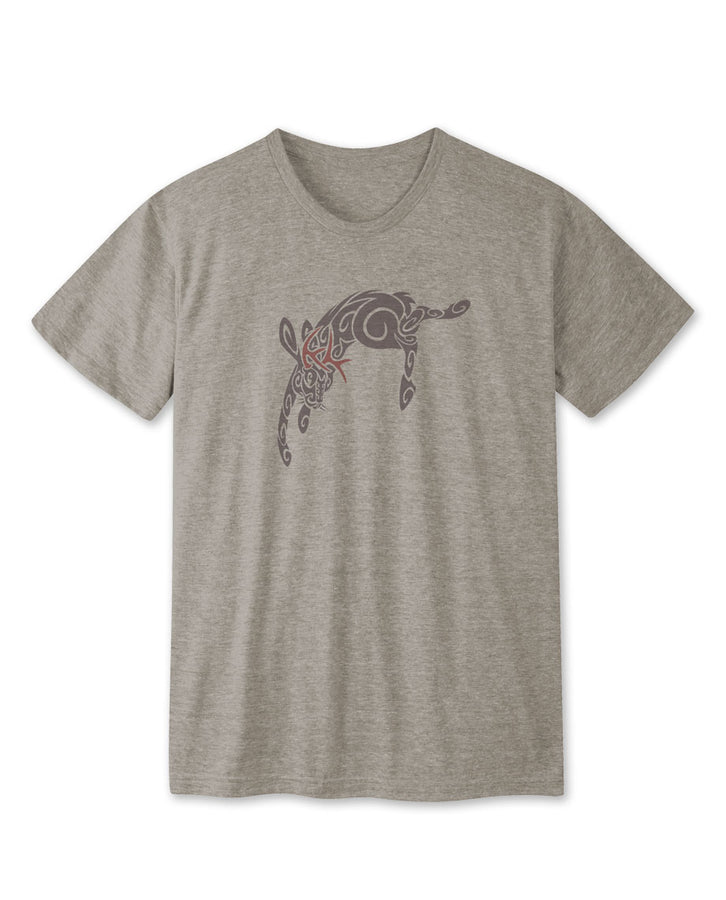 Men's Tribal Jackalope Tee