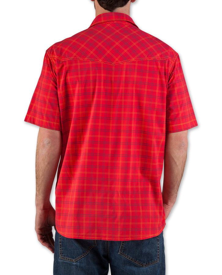 Men's Eddy Plaid Shirt SS - 2015