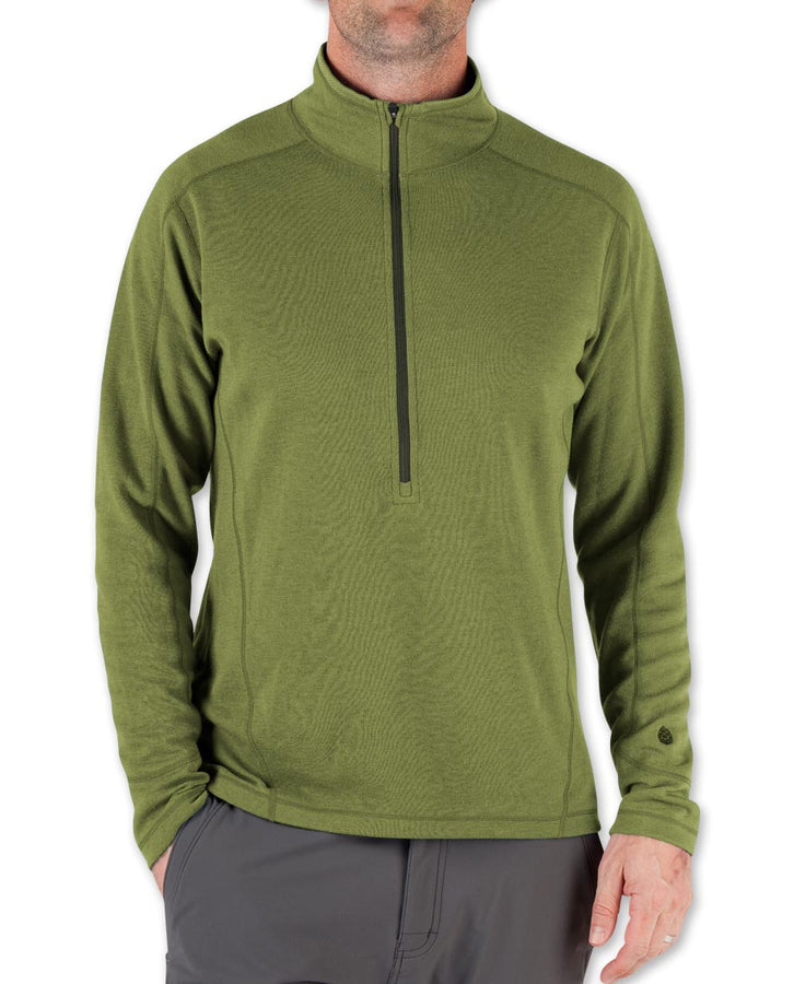 Men's Basis Power Dry® Zip Neck - 2015