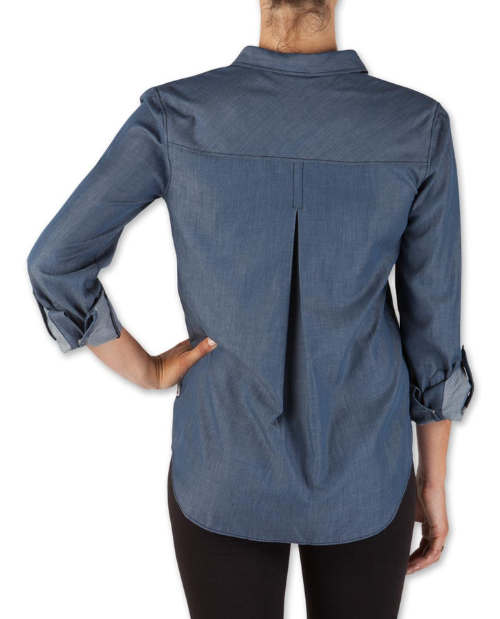 Women's Cora Chambray Popover