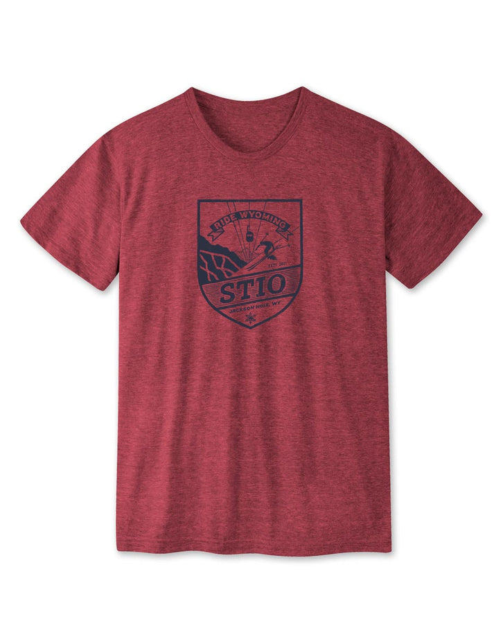 Men's Ride Wyoming - Ski Tee