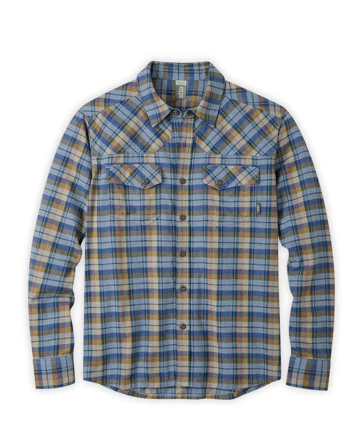 shoal blue plaid