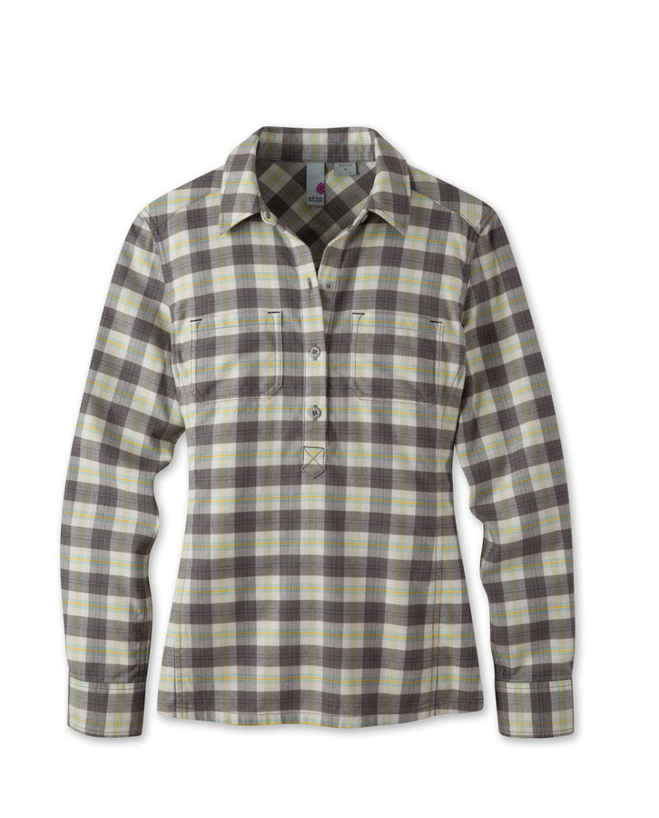 Women's Dovetail Flannel Pullover - 2015