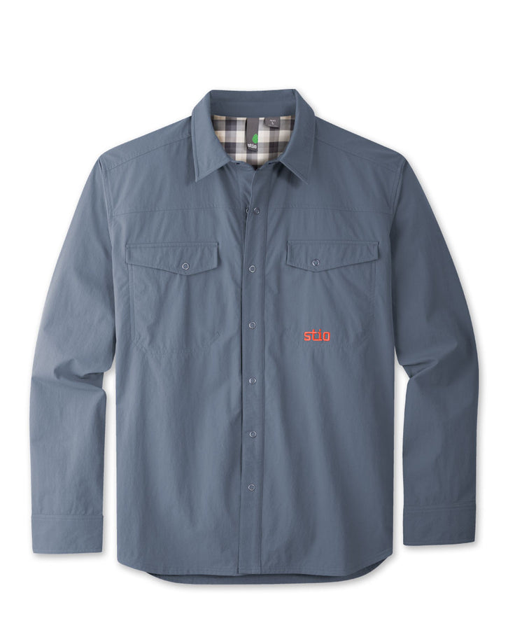 Men's Crester Soft Shell Snap Shirt - 2014
