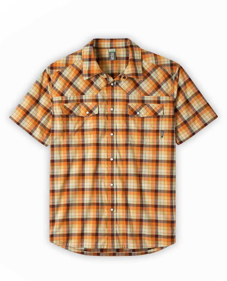 burnt orange check