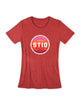 Women's Ride Wyoming Bike Tee - Stripe