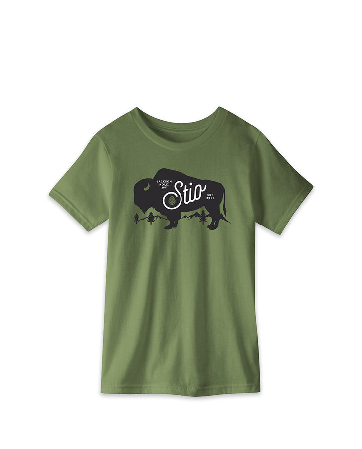 Kids' Mighty Bison Tee
