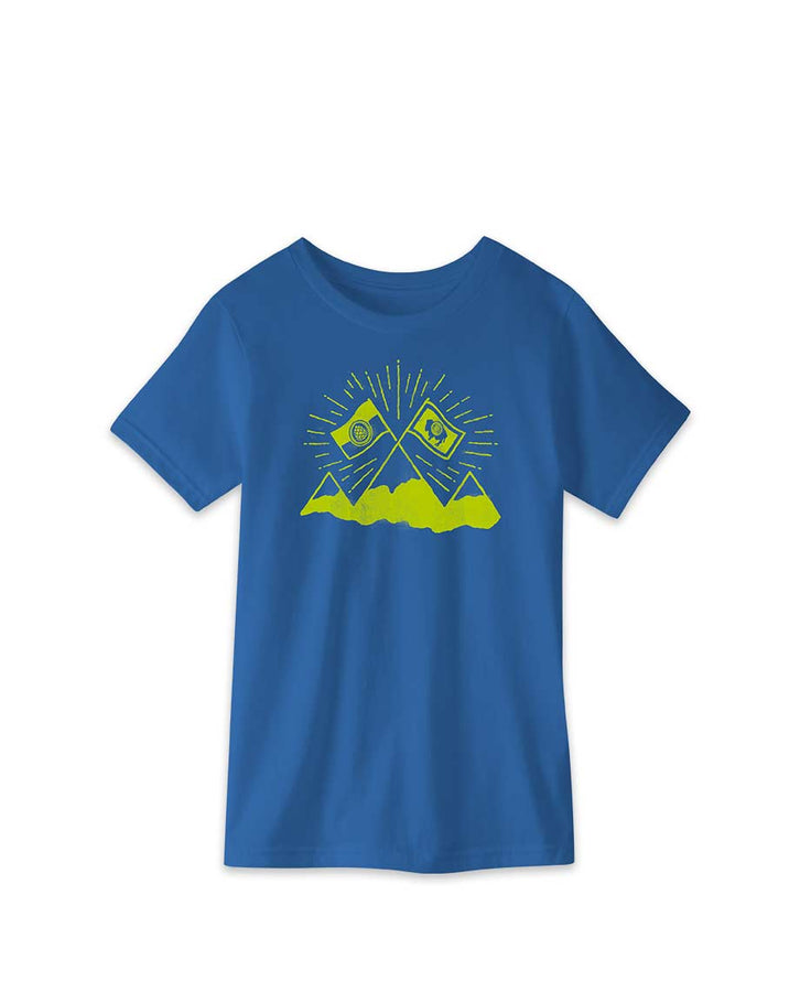 Kids' Summit Flag Tee