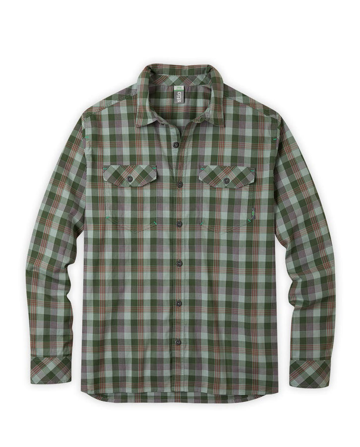 dark sage plaid