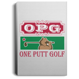 OPG Custom Design #8. Golf Southern California. All Year Long Baby!! Portrait Canvas .75in Frame