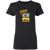 ArtichokeUSA Custom Design #10. Best Friends Forever. Bacon Cheese Burger. Ladies' Basic 100% Cotton T-Shirt