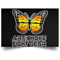 Artichoke Fight Gear Custom Design #7. Lepidopterology: The study of butterflies and moths. Butterfly Guard. It's a Jiu Jitsu Thing. Brazilian Edition. Satin Landscape Poster