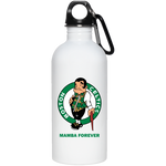 ArtichokeUSA Custom Design #12. RIP Kobe. Mamba Forever. Celtics Fan Art Tribute. 20 oz. Stainless Steel Water Bottle
