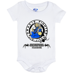 Artichoke Fight Gear Custom Design #1. Arachnophobia. It's A Jiu Jitsu Thing. Spider Guard. BJJ. Baby Onesie 6 Month