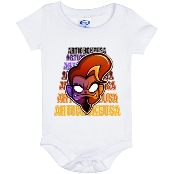 ArtichokeUSA Character and Font Design #1. Let's Create Your Own Design Today. Baby Onesie 6 Month