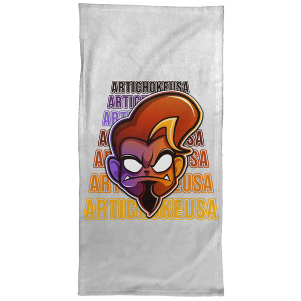 ArtichokeUSA Character and Font Design #1. Let's Create Your Own Design Today. Towel - 15x30