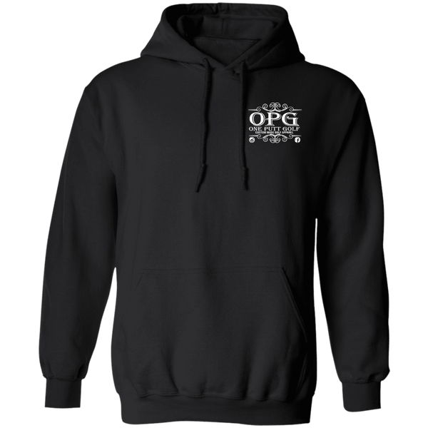OPG Custom Design #00. OPG - One Putt Golf.  Front and Back Design. Hoodie