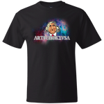 ArtichokeUSA Character and Font design #19. Michio Kaku Fan Art. Let's Create Your Own Design Today. Thick 100% Cotton T-Shirt