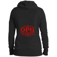 OPG Custom Design #3. Drive like a girl. Golf. Ladies' Pullover Hoodie