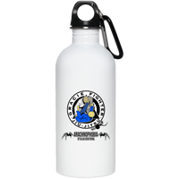 Artichoke Fight Gear Custom Design #1. Arachnophobia. It's A Jiu Jitsu Thing. Spider Guard. BJJ. 20 oz. Stainless Steel Water Bottle