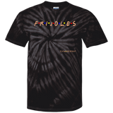 ArtichokeUSA Custom Design #19. FRIJOLES CON QUESO. Friends Parody. Tie Dye 100% Cotton T-Shirt
